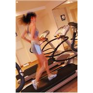 exercise - woman on treadmill
