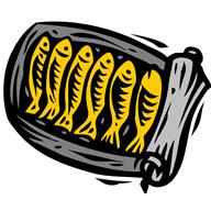 food - can of sardines rolled open