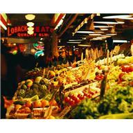 food - veggie stand in market